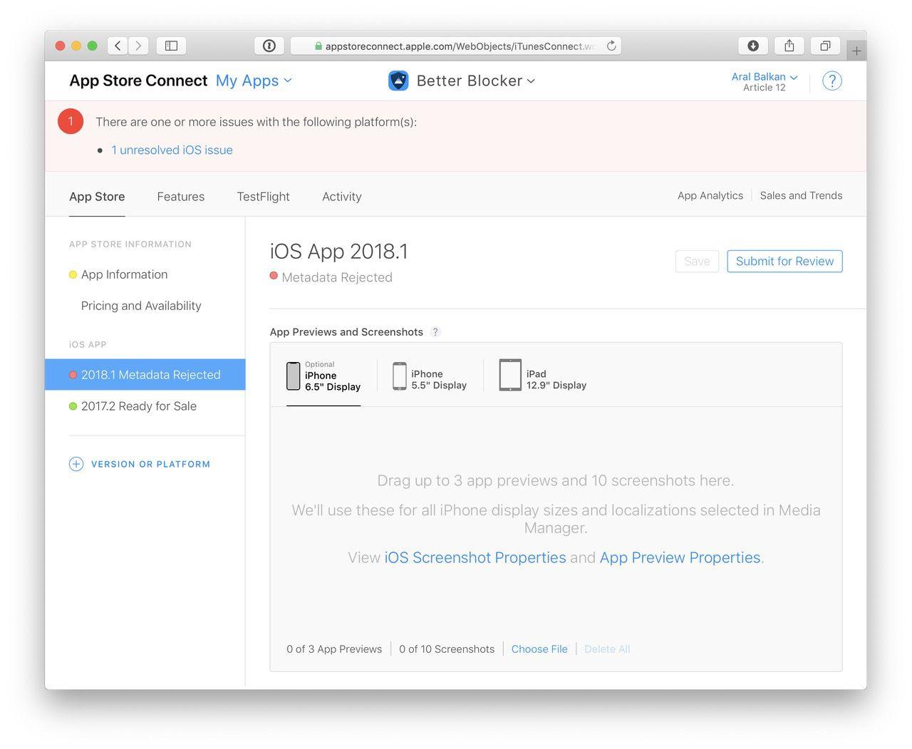Responsive design got my app rejected – Aral Balkan