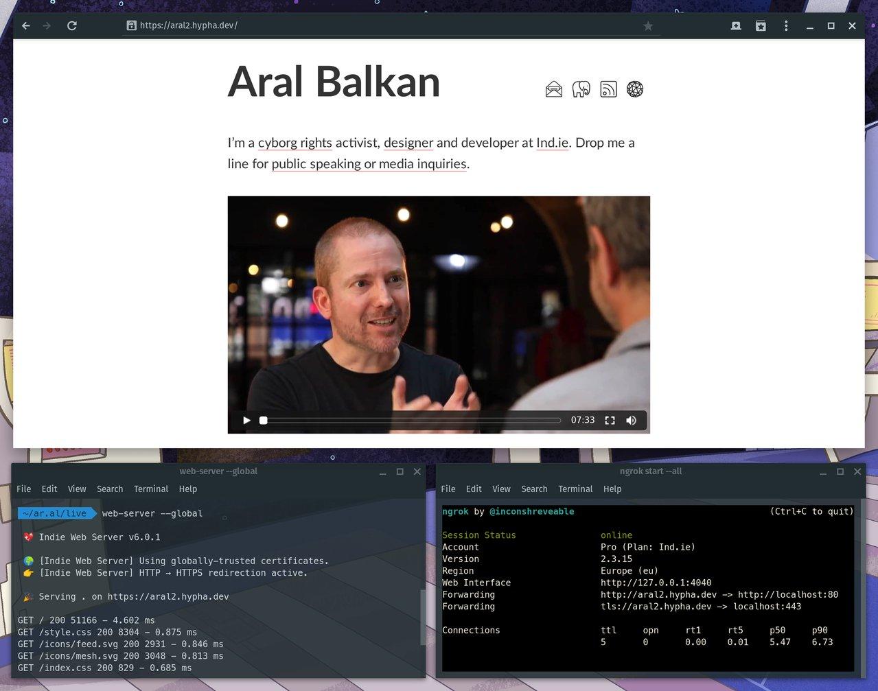 Indie Web Server – Aral Balkan