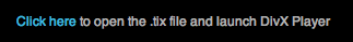 The tiny download link for the Star Trek license file.