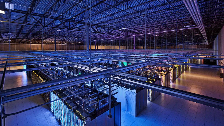Una granja de servidors