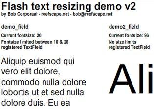 Bob Corporaal Text Sizing Demo