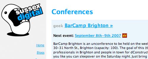 Sussex Digital Brighton Conferences