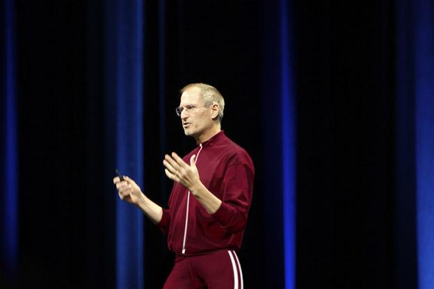 Steve Jobs in Track Suit