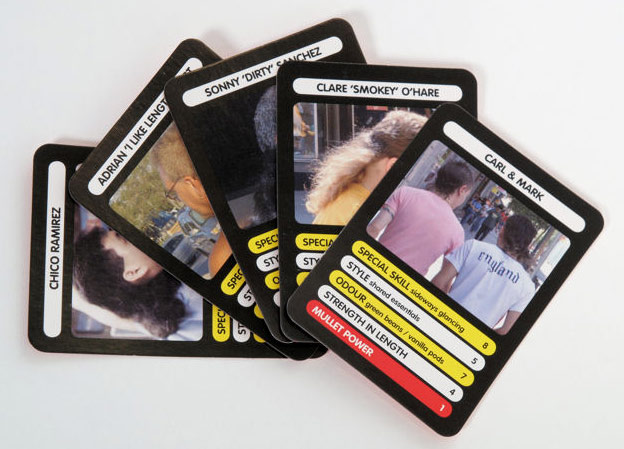 Mullet Power cards