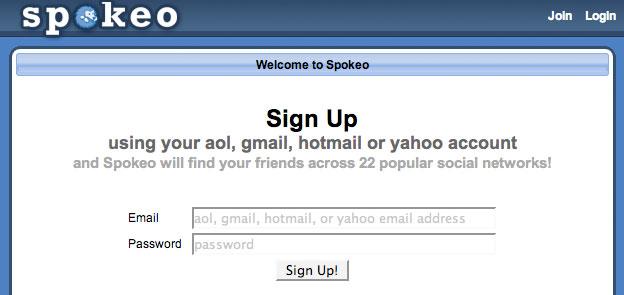 Spokeo sign up: bad, bad, bad!